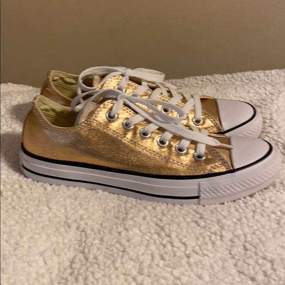 Converse Shoes   Rose Gold Size 7